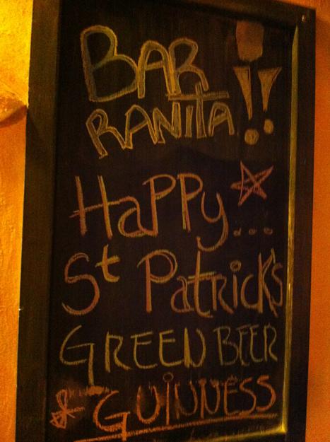 Bar Ranita specials