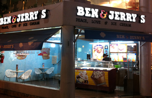 Ben and Jerrys Store