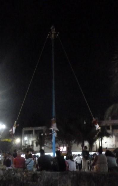 Mexican Maypole Dancing