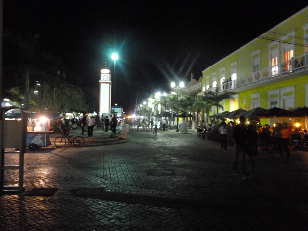 Sunday night is a special time in San Miguel, Cozumel