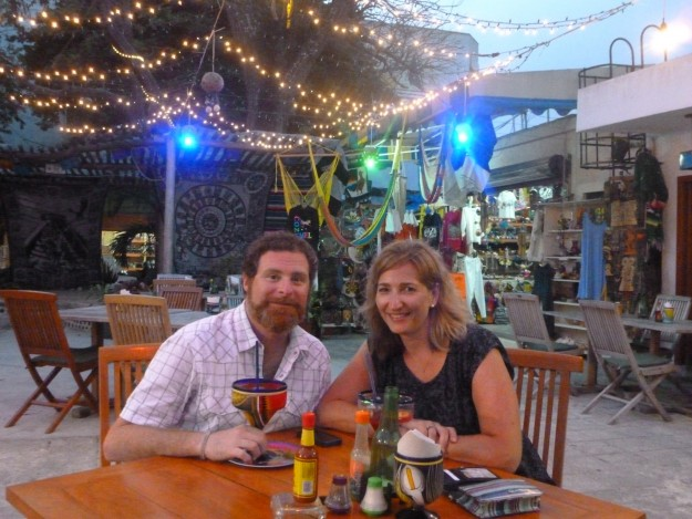 These two happen to be eating (and drinking) really well in Mexico.