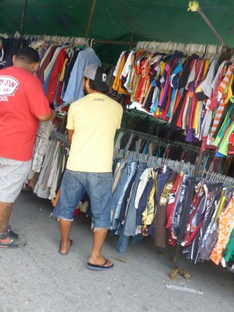 Clothes at the Mercado