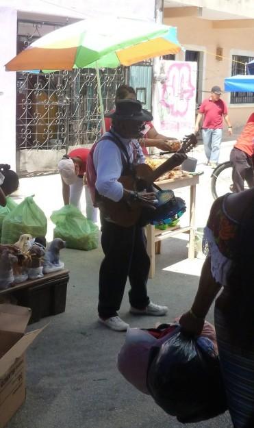 Musician at the Mercado