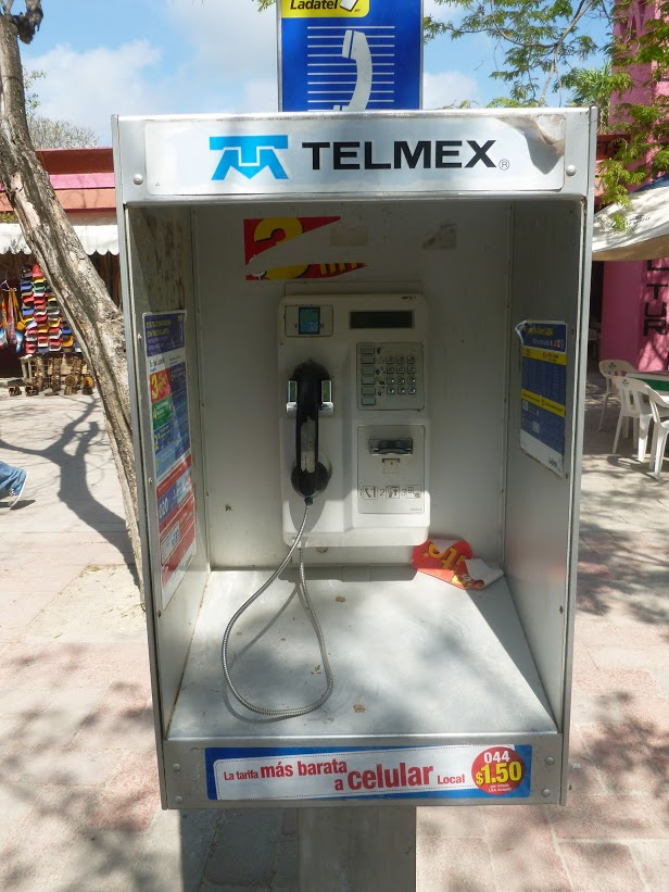Playa del Carmen Pay Phone