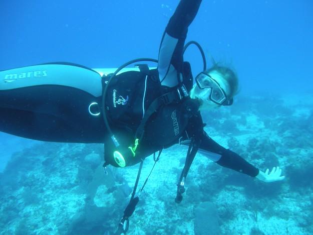 Deidre Scuba Diving