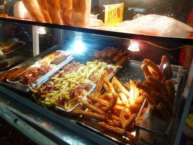 Food at Playa del Carmen Fair