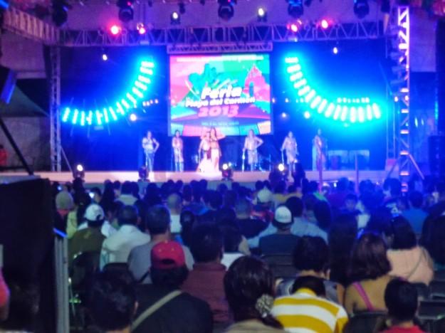 Main Stage at Playa del Carmen Fair