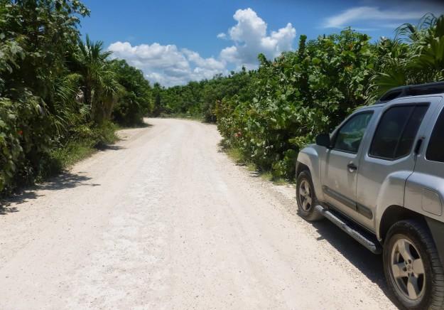 Road to Punta Allen