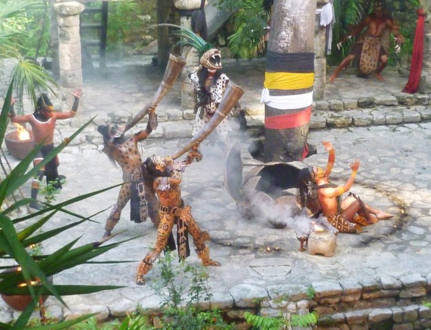 Xcaret Ceremony