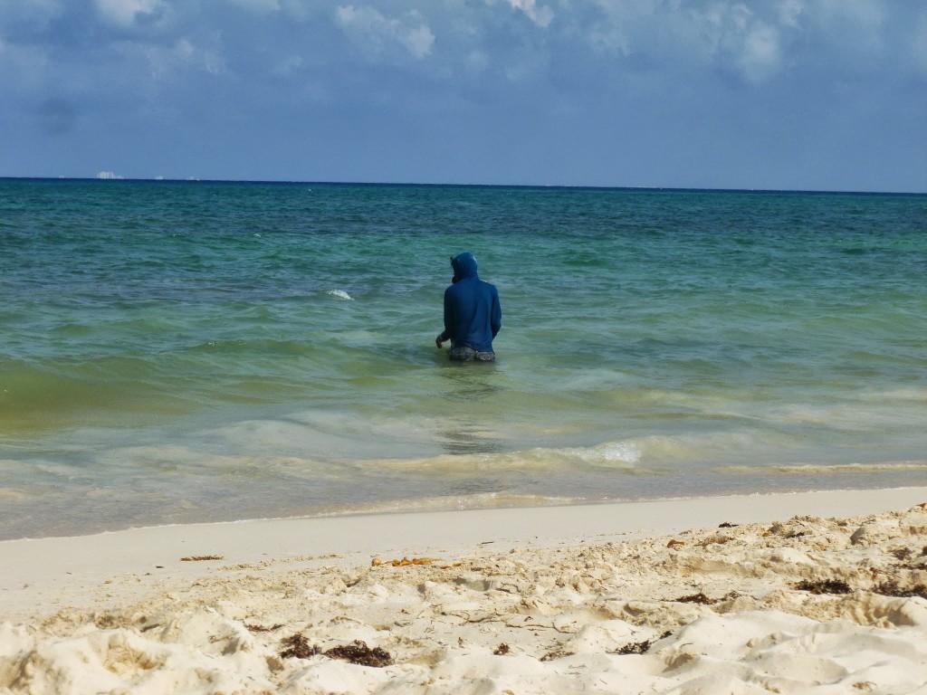 Unconventional Beach Attire