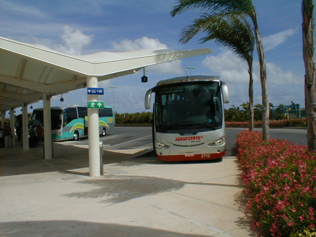 Bus From Cancun Airport to Playa del Carmen