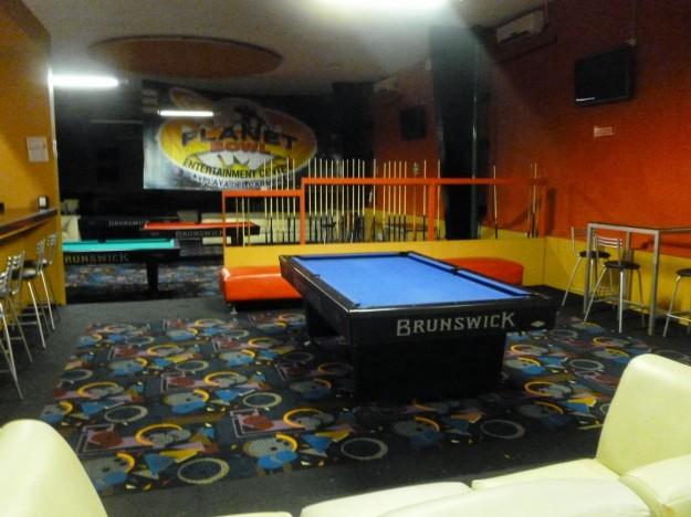 Pool tables in Playa del Carmen