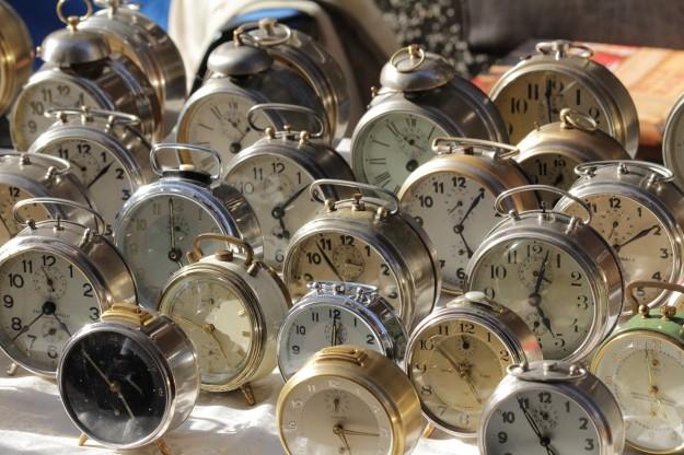Many Alarm Clocks