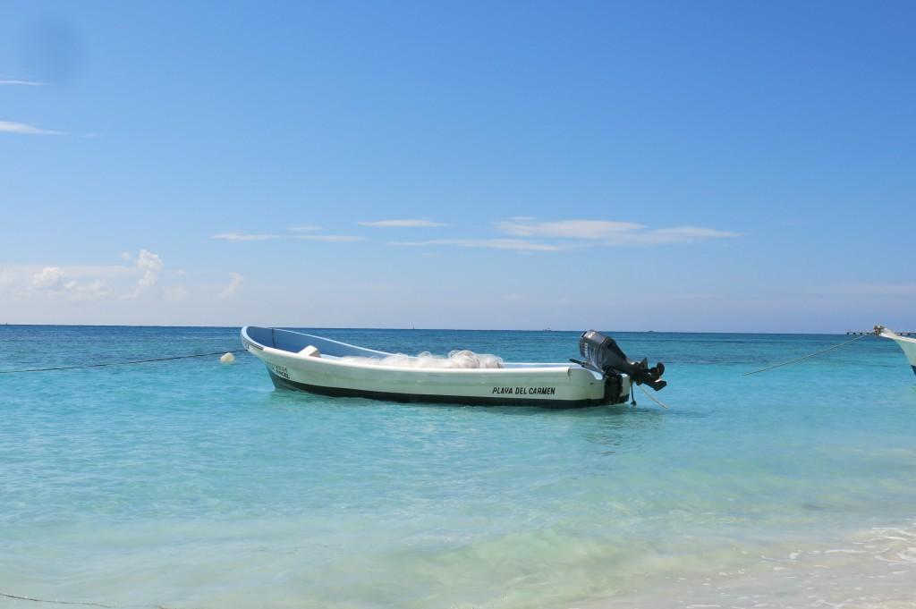 Playa del Carmen Fishing Boat