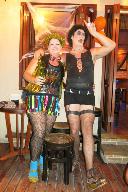 Dr. Frank N. Furter and Columbia
