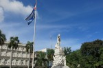 One of the many memorials around Havana of poet and political theorist José Martí,