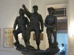 Che, Fidel and Camilo Cienfuegos, three of the heroes of the Cuban Revolution.