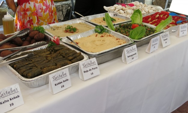 Mediterranean Food at Taste of Playa