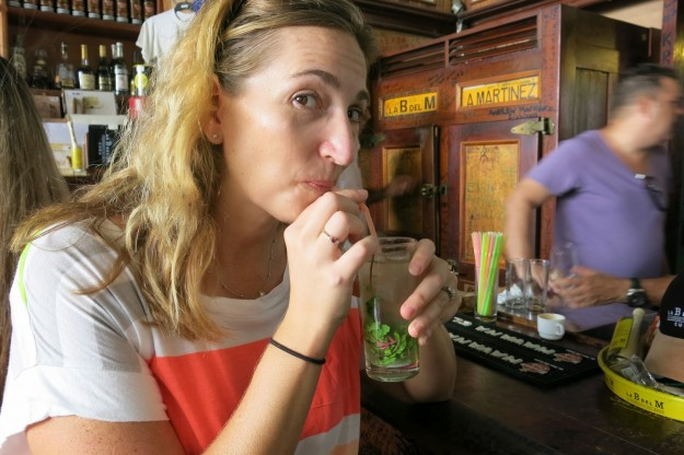 "Ernest Hemingway won a Nobel Prize. I once won a spelling bee. And now we've both drank mojitos at La Bodeguita del Medio. My own ""A Farewell to Arms"" is should be coming soon."