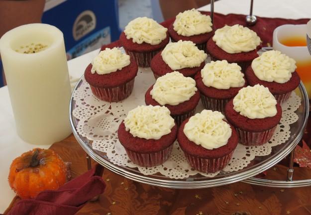 Red Velvet Cupcakes at Taste of Playa