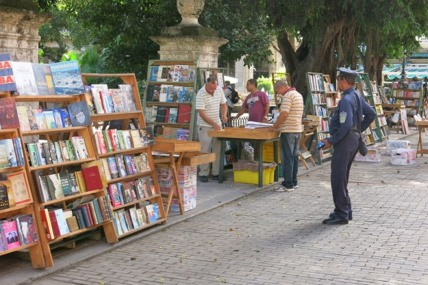 Booksellers in Old Havana
