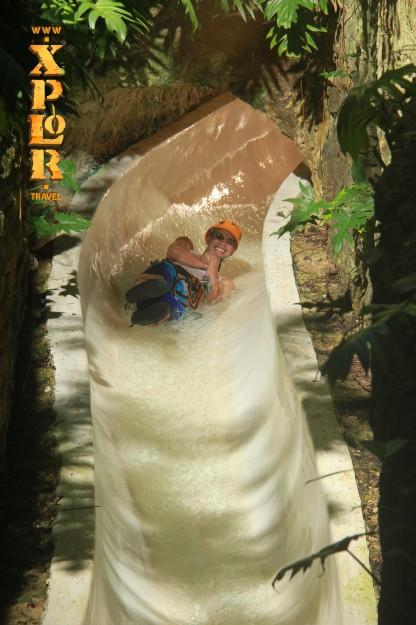 Xplor water slide