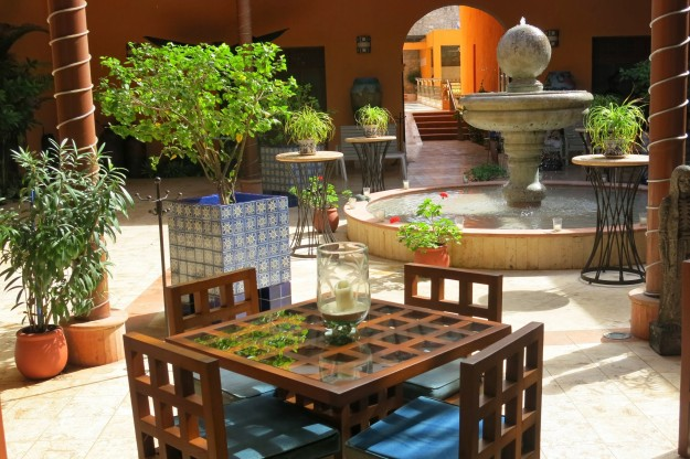 Courtyard at Casa de los Venados