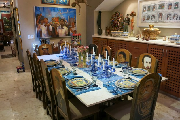 Dining Room at Casa de los Venados