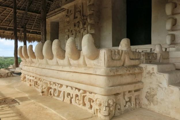 Carvings at Ek Balam
