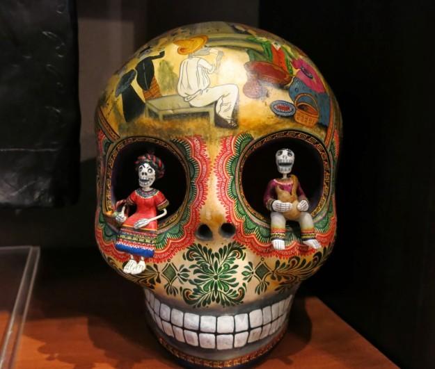 Skull at Casa de los Venados