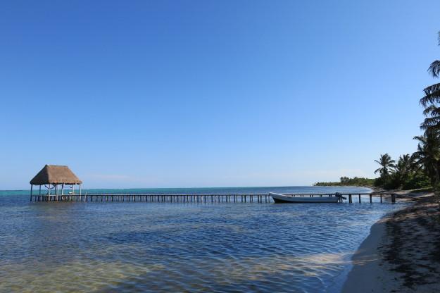 Xcalak Pier