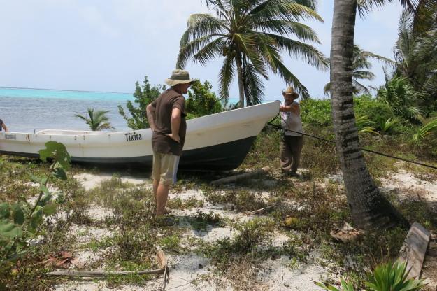 Xcalak Boat