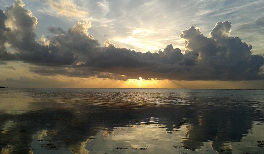 Xcalak Sunrise