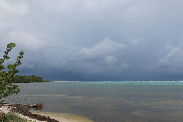 Xcalak Storm Clouds