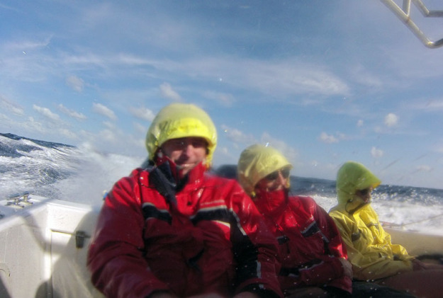 Boat ride to Banco Chinchorro