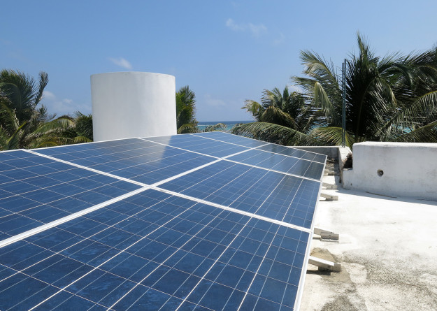Solar Panels in Xcalak
