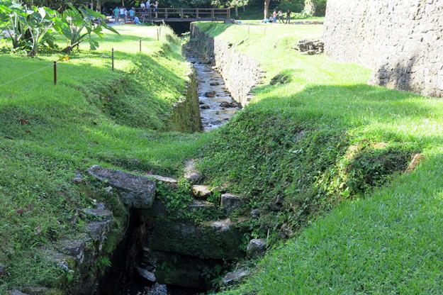 Aqueduct at Palenque