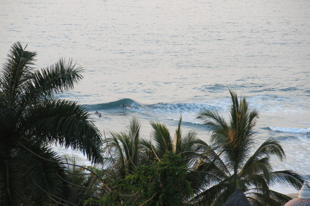 san pancho surfing