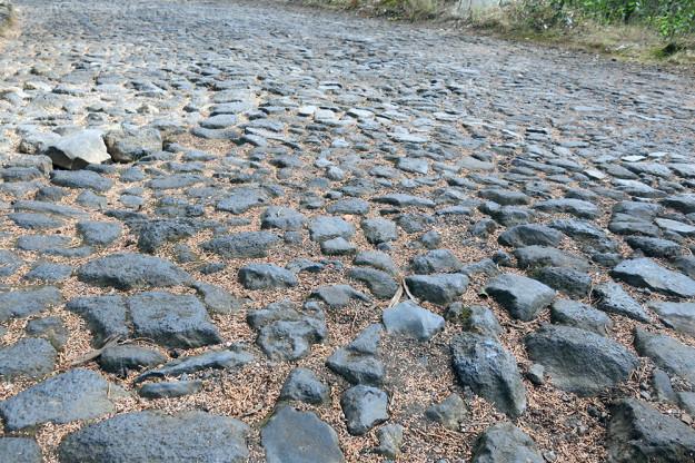 Cobblestones on El Estribo
