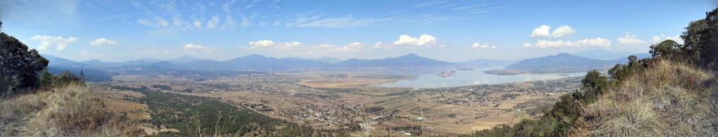 Panoramic View from El Estribo