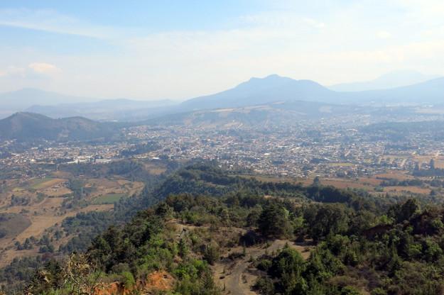 View of Patzcuaro from El  Estribo