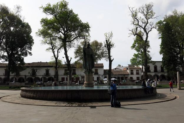 Vasco de Quiroga Statue in Patzcuaro