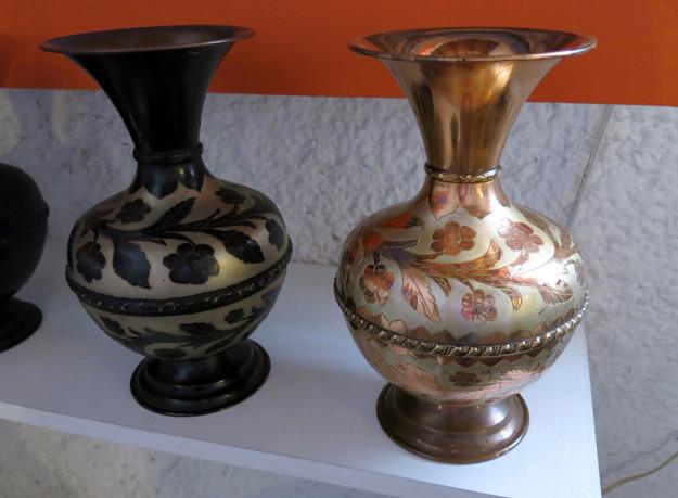 Copper Vases in Santa Clara de Cobre