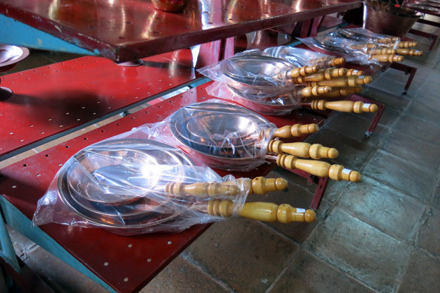 Copper Pots in Santa Clara de Cobre