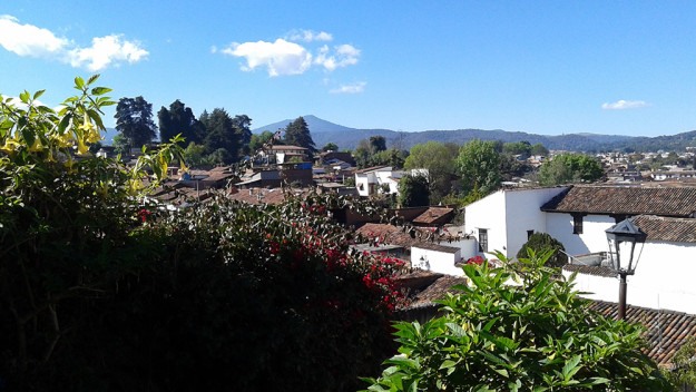 Rooftops of Patzcuaro