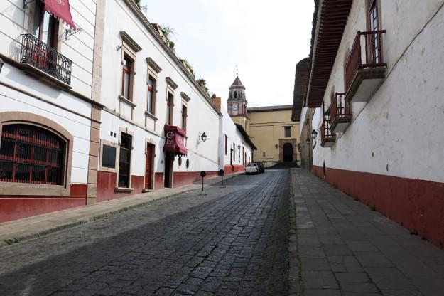 Cobblestone streets of Patzcuaro