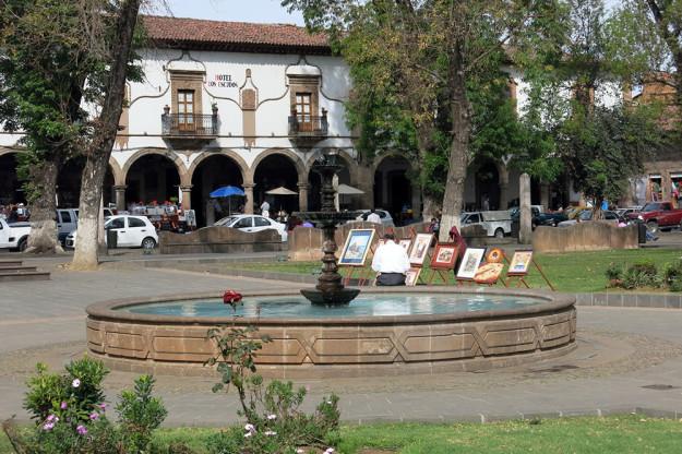 Plaza Grande Patzcuaro