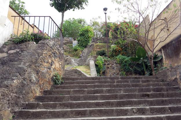 Steps of Patzcuaro