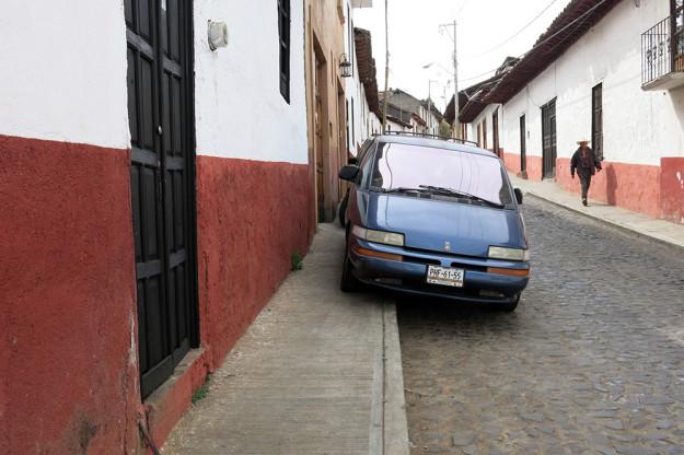 Patzcuaro style parking