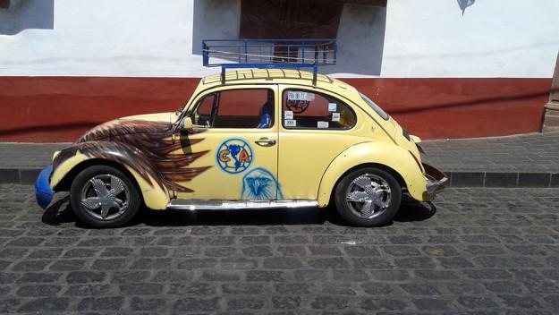 Cars in Patzcuaro